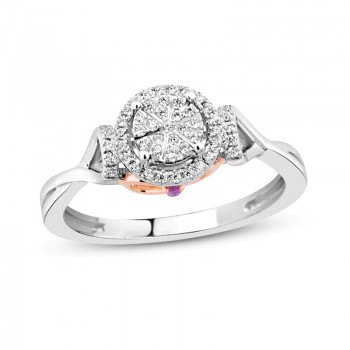 Diamond Ring 18k White