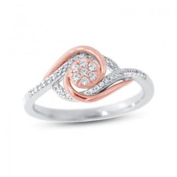 Veronece 18K Clad 10″ Diamond